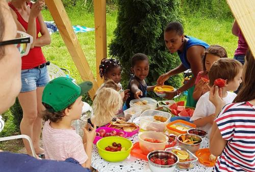 Kunterbuntes Kinderbuffet