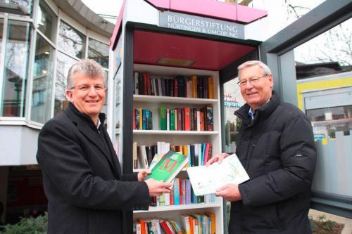 Eröffnung der Bücherei