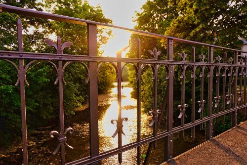 Sunset @Steinachbrücke